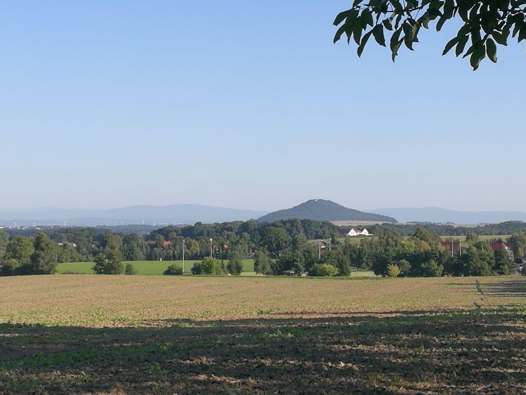 Landschaft in der Oberlausitz