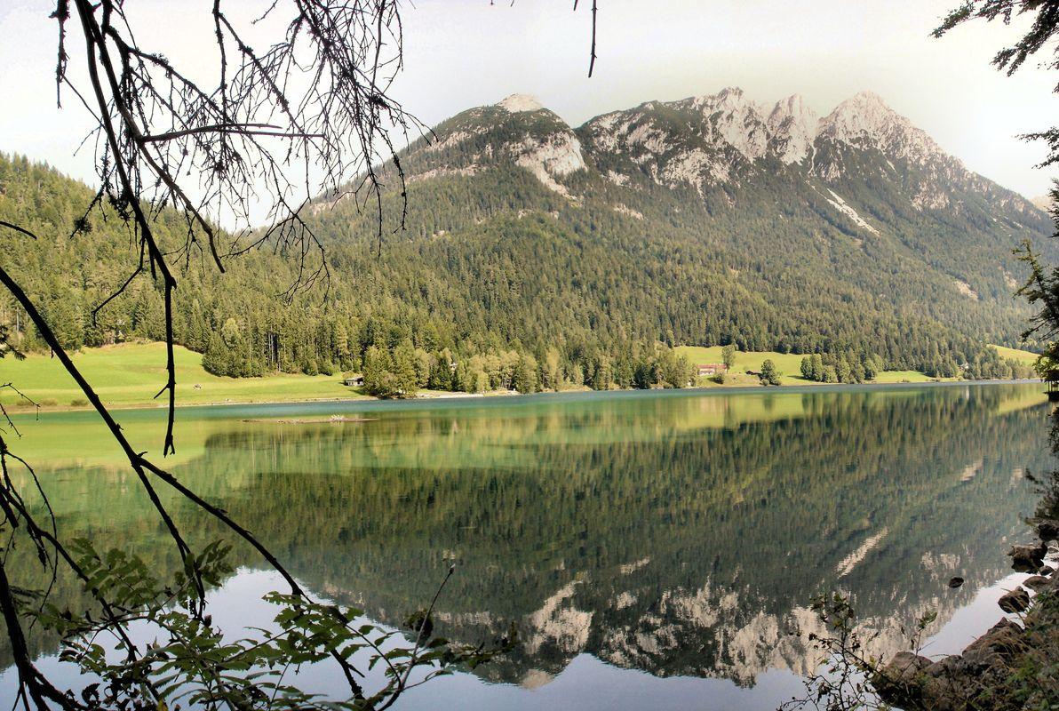 Der Hintersteiner See am Wilden Kaiser