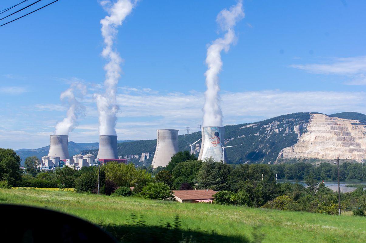 Cruas Nuclear Power Plant