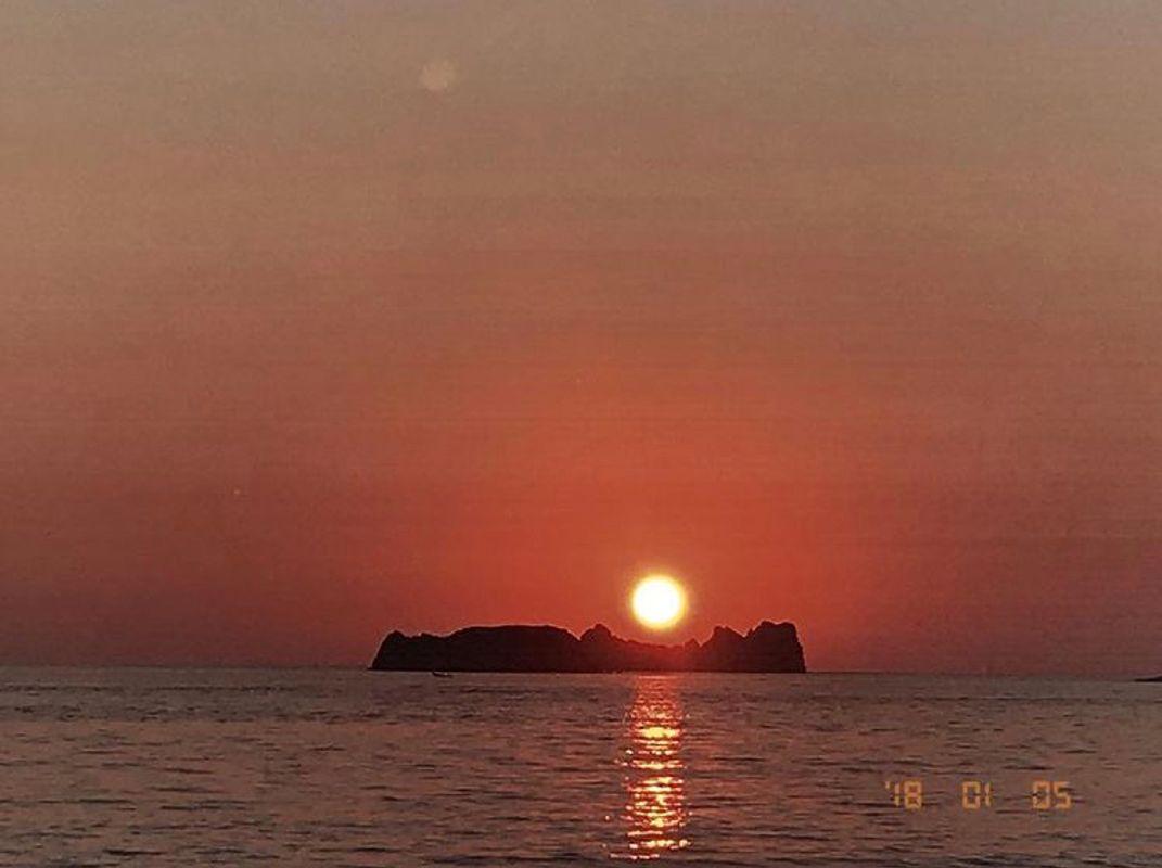 Sunset of Ixtapa