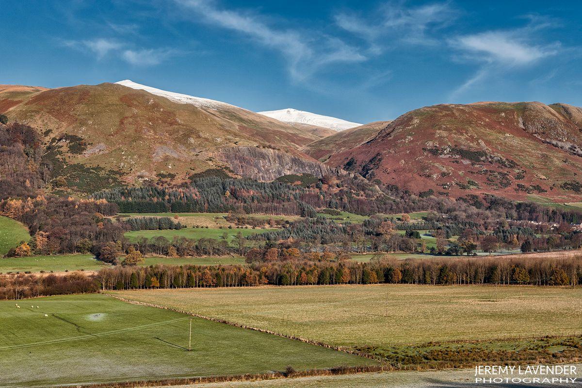 The Ochill Hills in Scotland