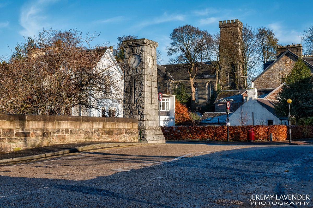 Dollar Town in Scotland