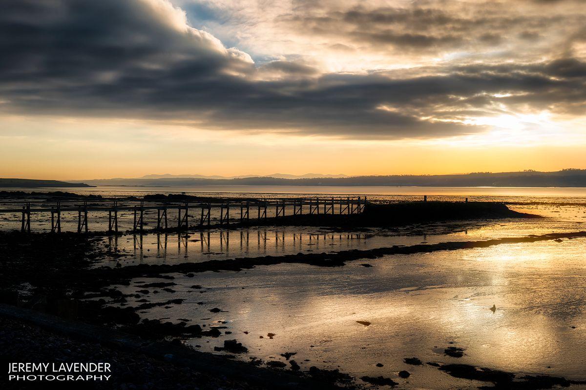 The Old Pier in Culross, Scotland