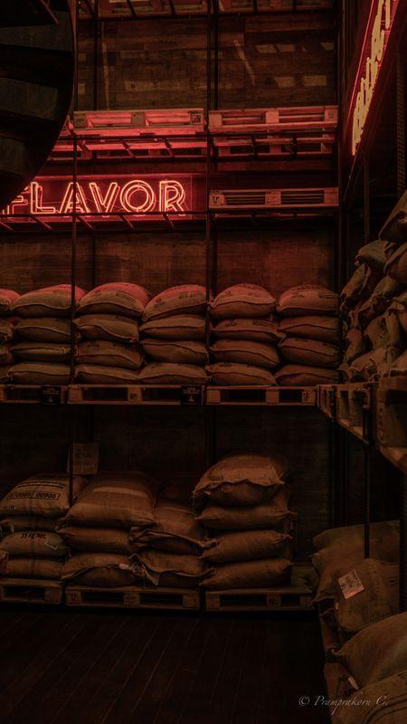 Coffee cafe warehouse