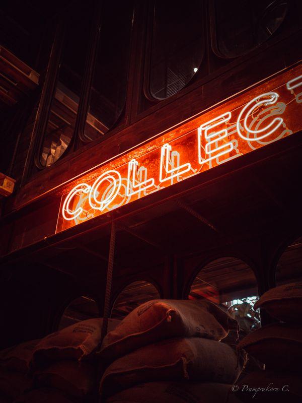 Coffee cafe light
