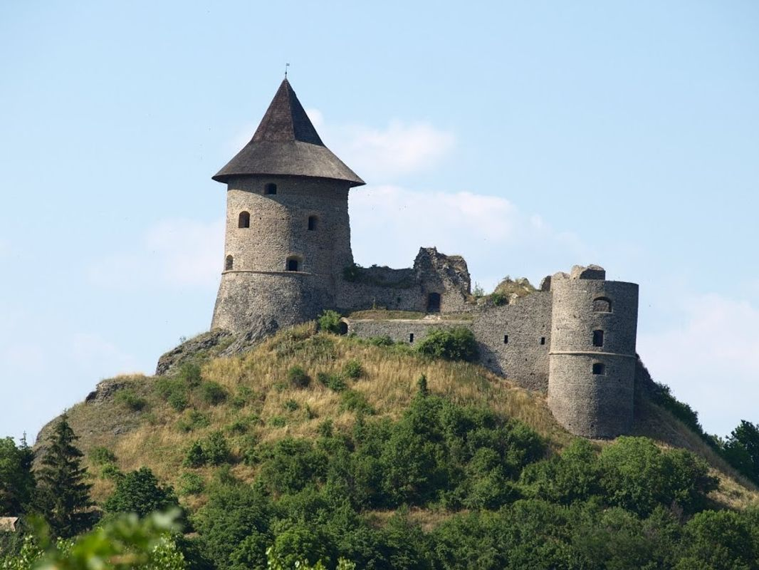 The castle of Somosk?, North of Hungary
