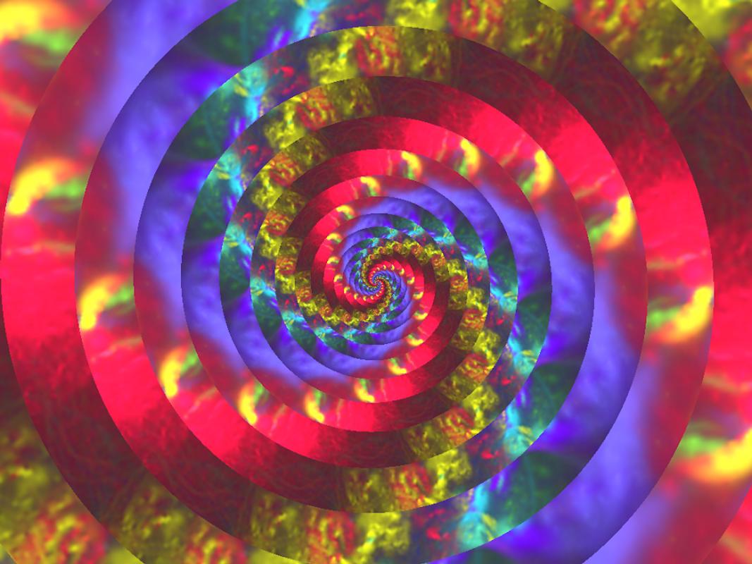 Photospiralysis: Rainbow