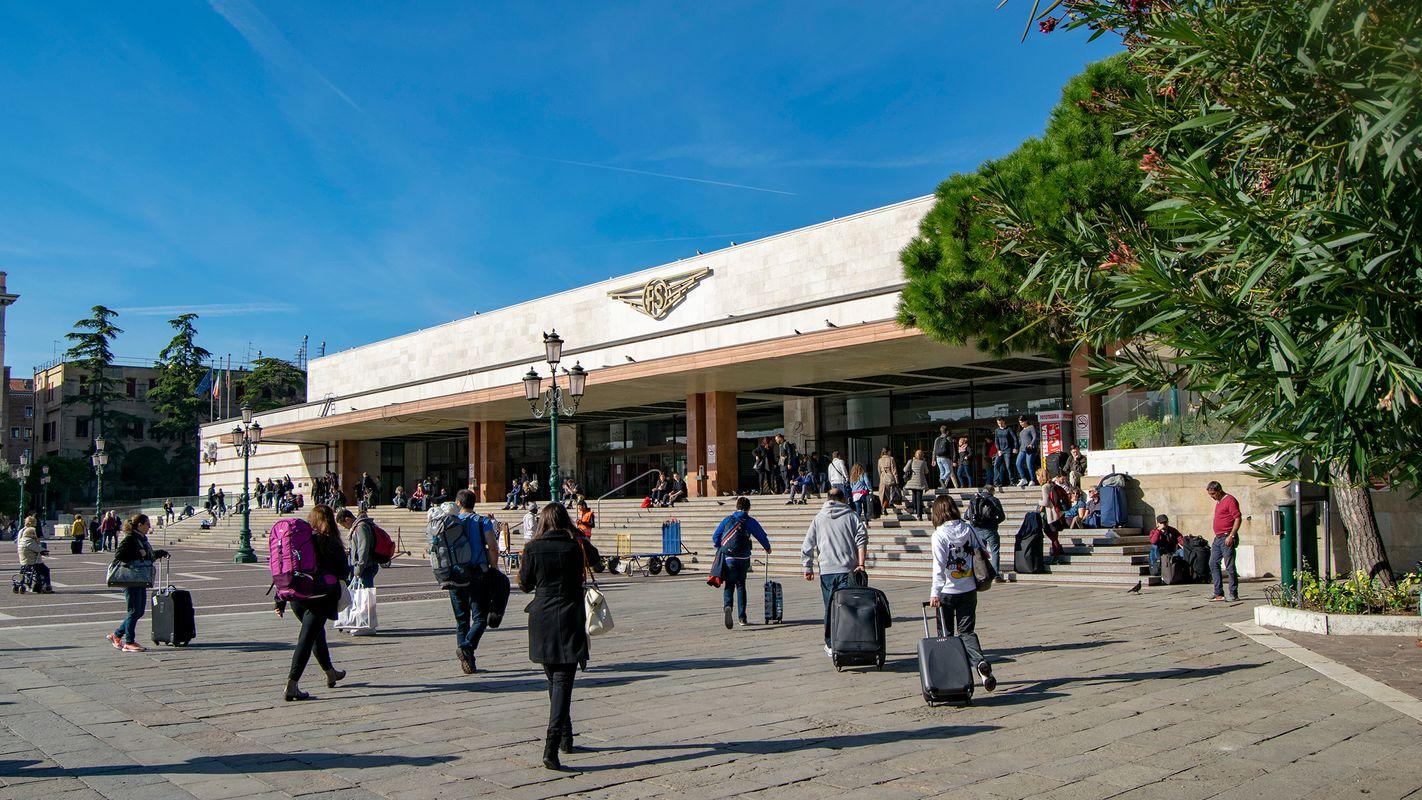 Venezia Santa Lucia Railway Station.