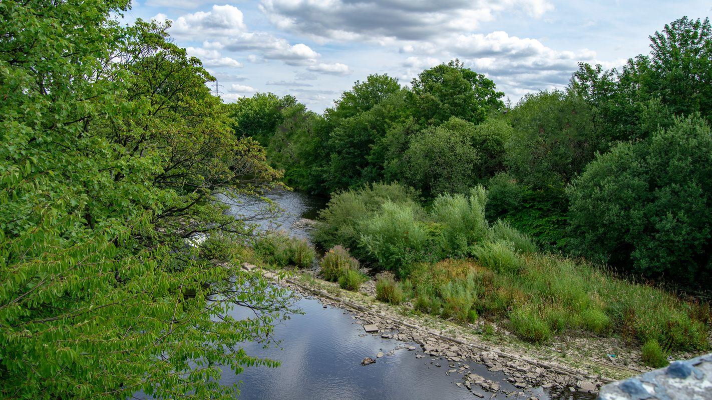 River Calder, Brighouse.