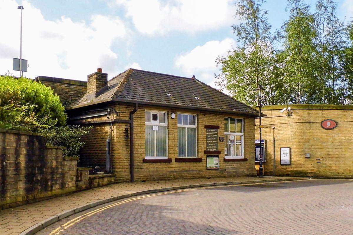 Litleborough Railway Station.