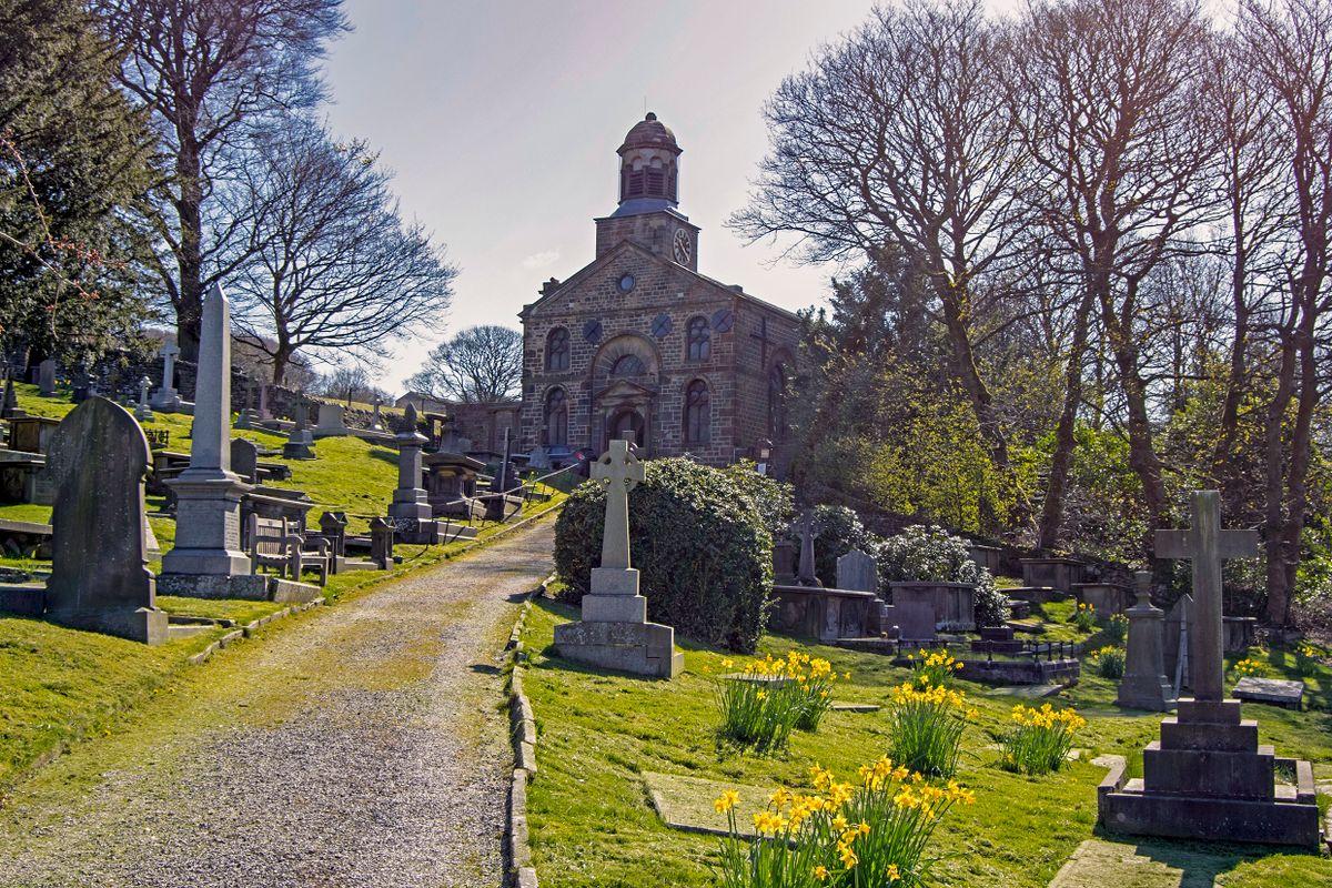 The Church of St John the Devine.