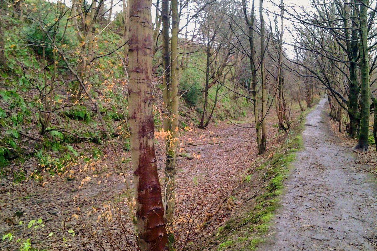 Former Railway at Rishworth, West Yorkshire.