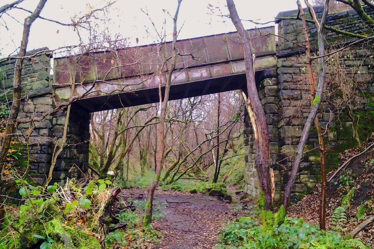 Iron Bridge at Rishworth