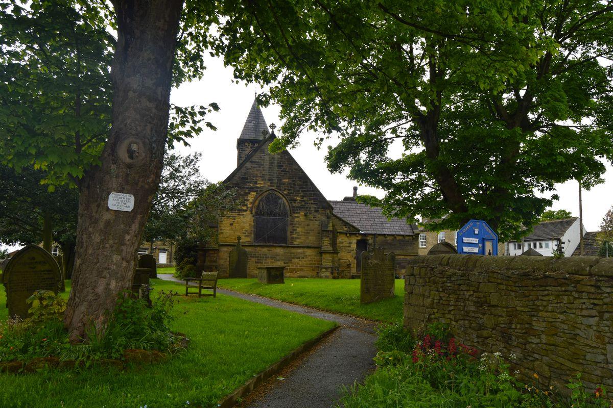 The Path to St Nicholas Church, Cumberworth.