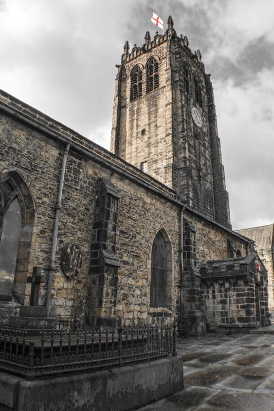 The Tower at Halifax Minster