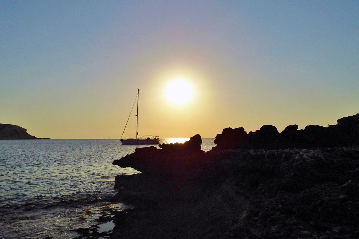 Portinatx Sunset.