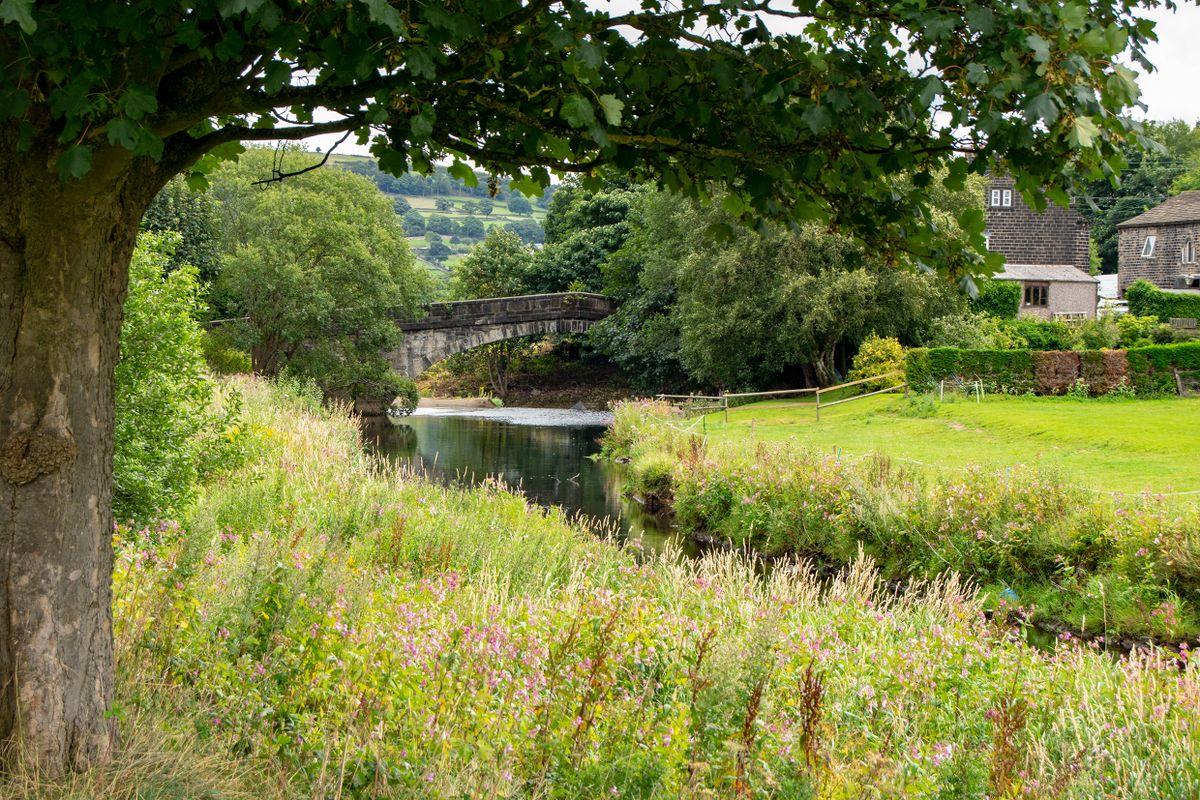 River Calder at Brearley