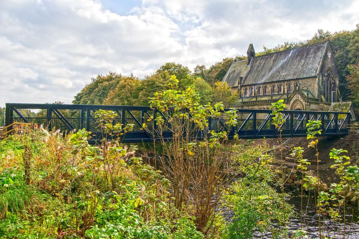 St Stephens and Wilson Bridge, Copley.