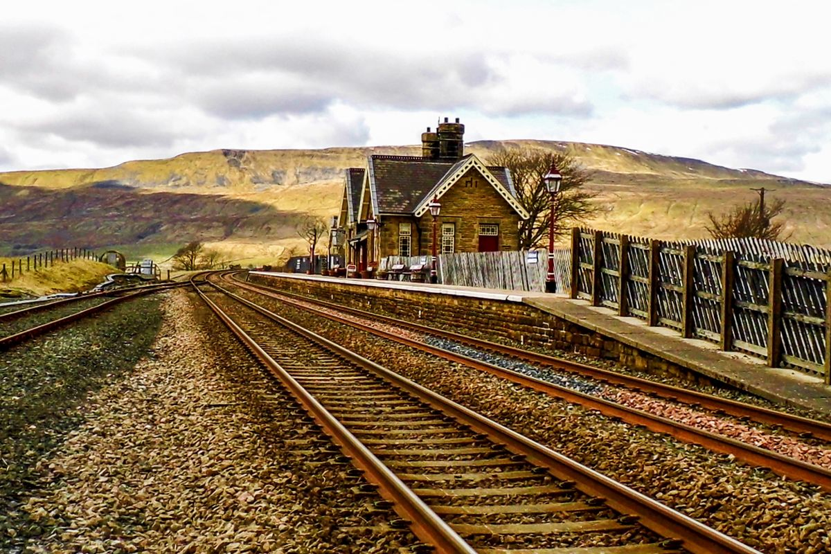 Platform 1 at Ribblehead Railway Station