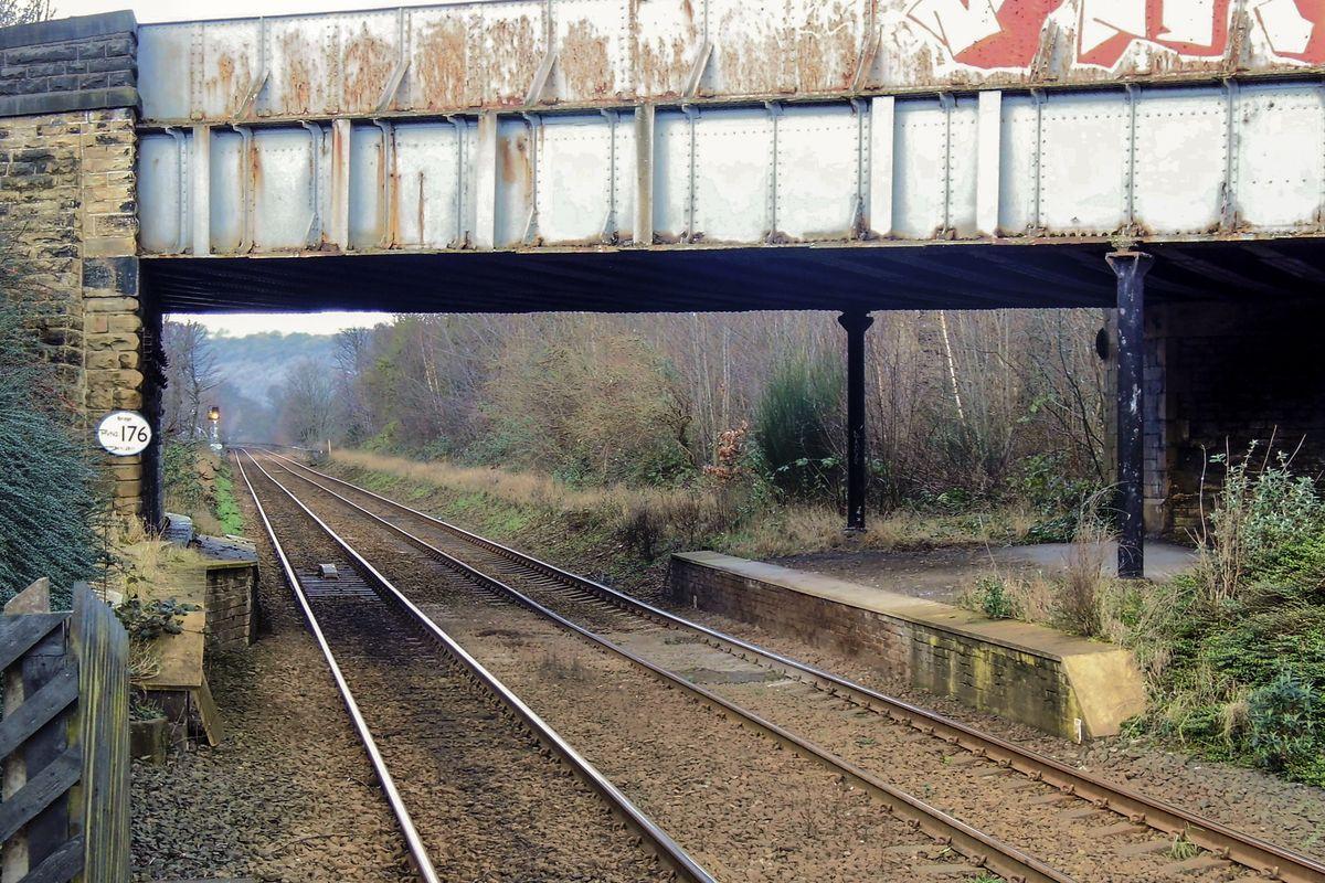 Railtracks Running Westward