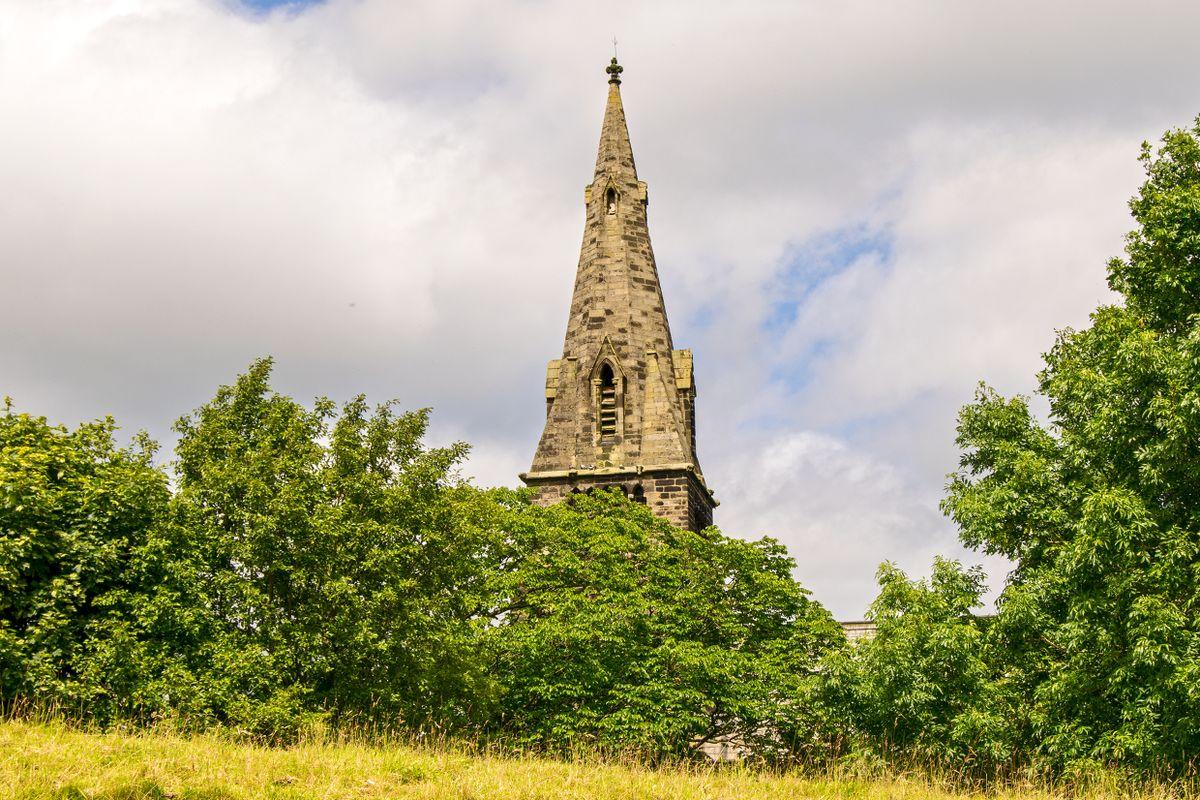 St Paul's Church Spire, Denholme
