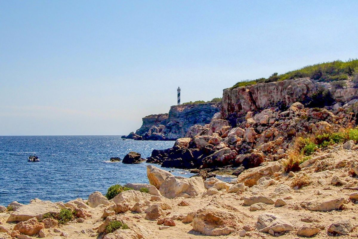 Far del Moscarter and Portinatx Lighthouse, Ibiza