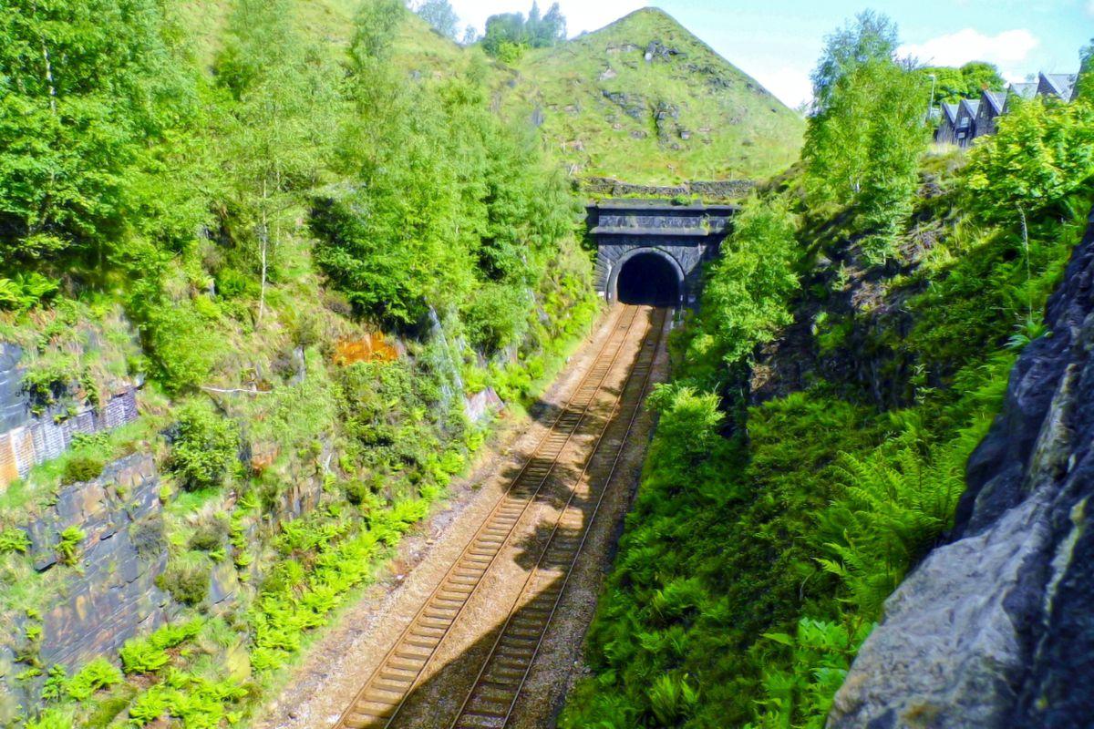 Summit Tunnel Southern Portal.