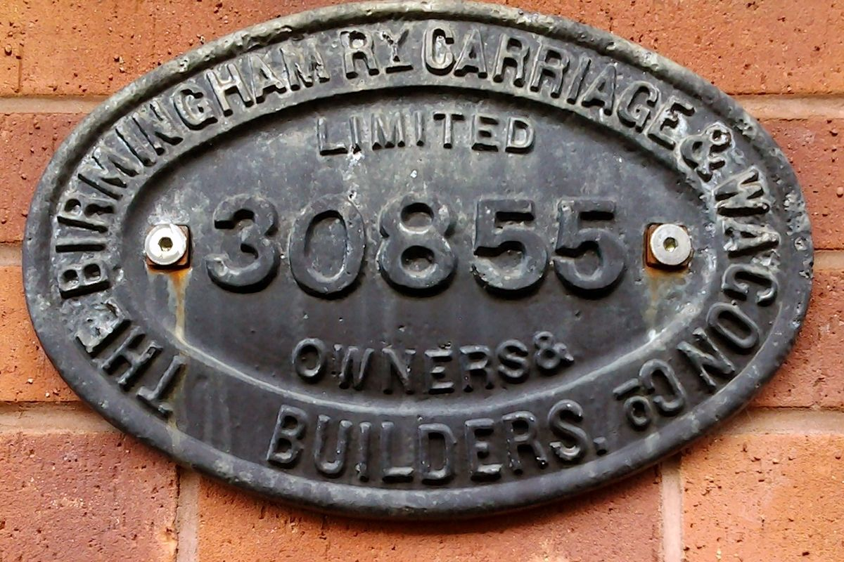 Birminham Carriage Works Sign.