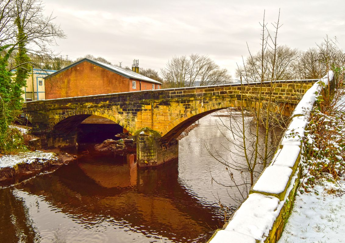 Winter at Mearclough.