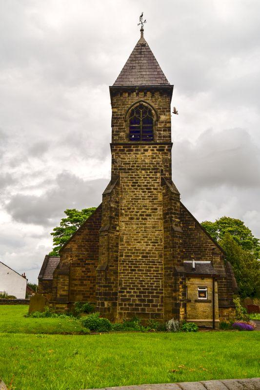 The Tower of St Nicholas Church.
