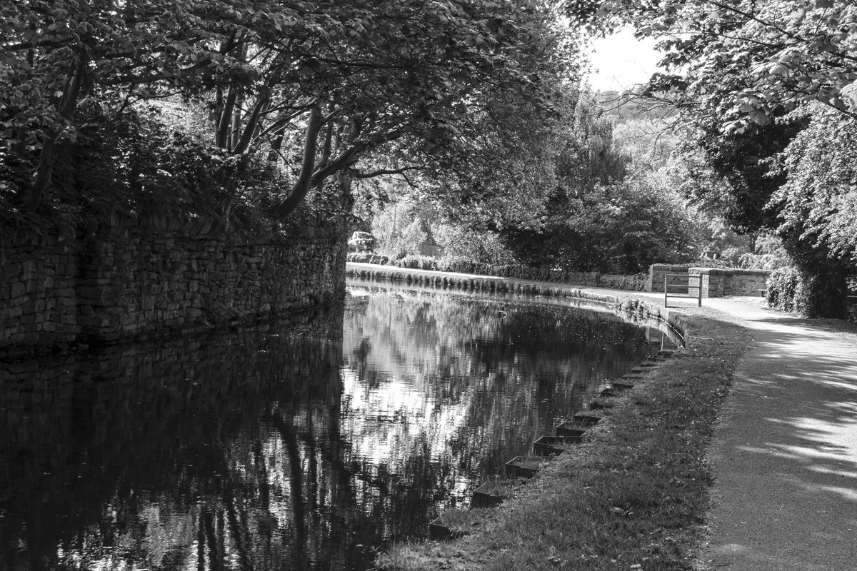 Calder & Hebble Canal at Copley