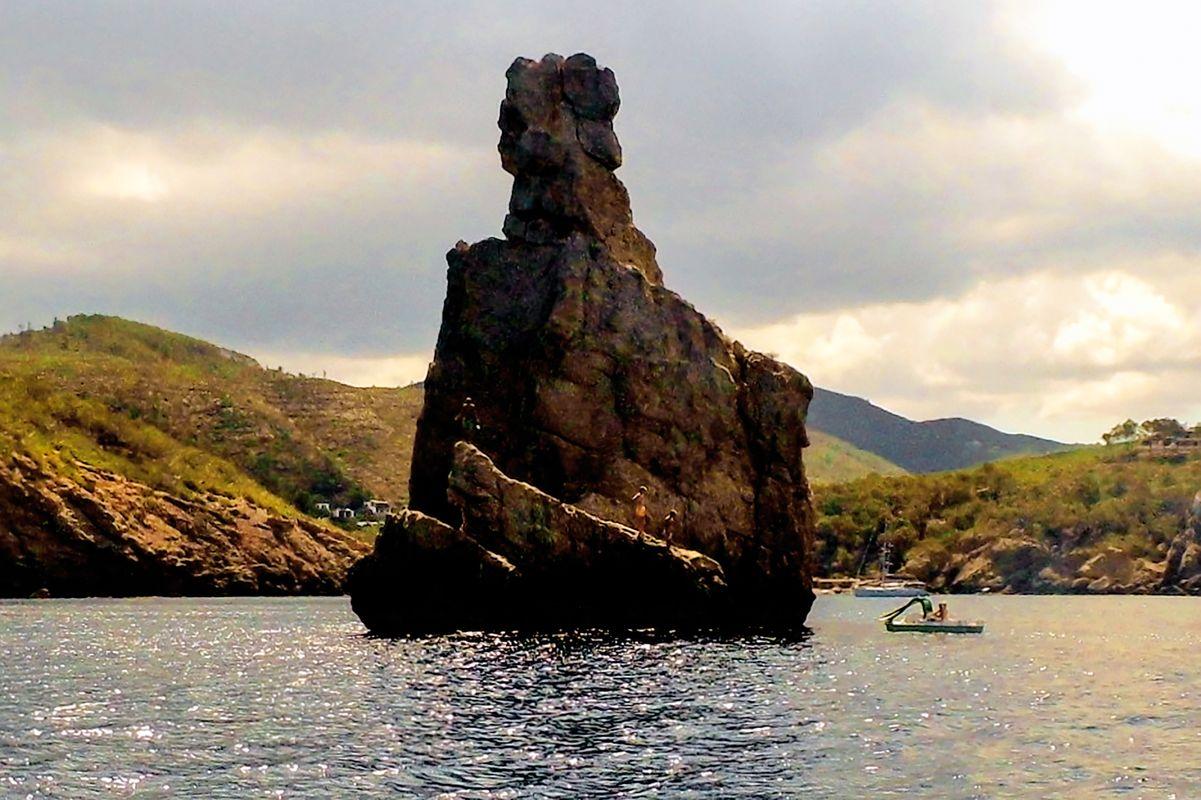The Rock of Ibiza.