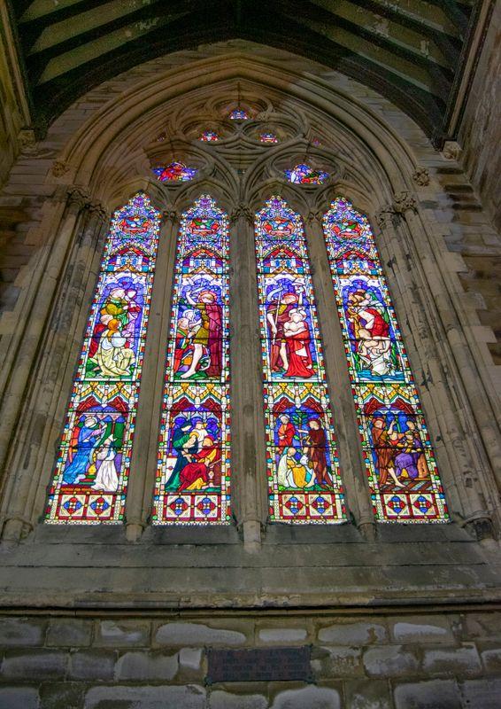 Window inside All SOuls Church, Halifax