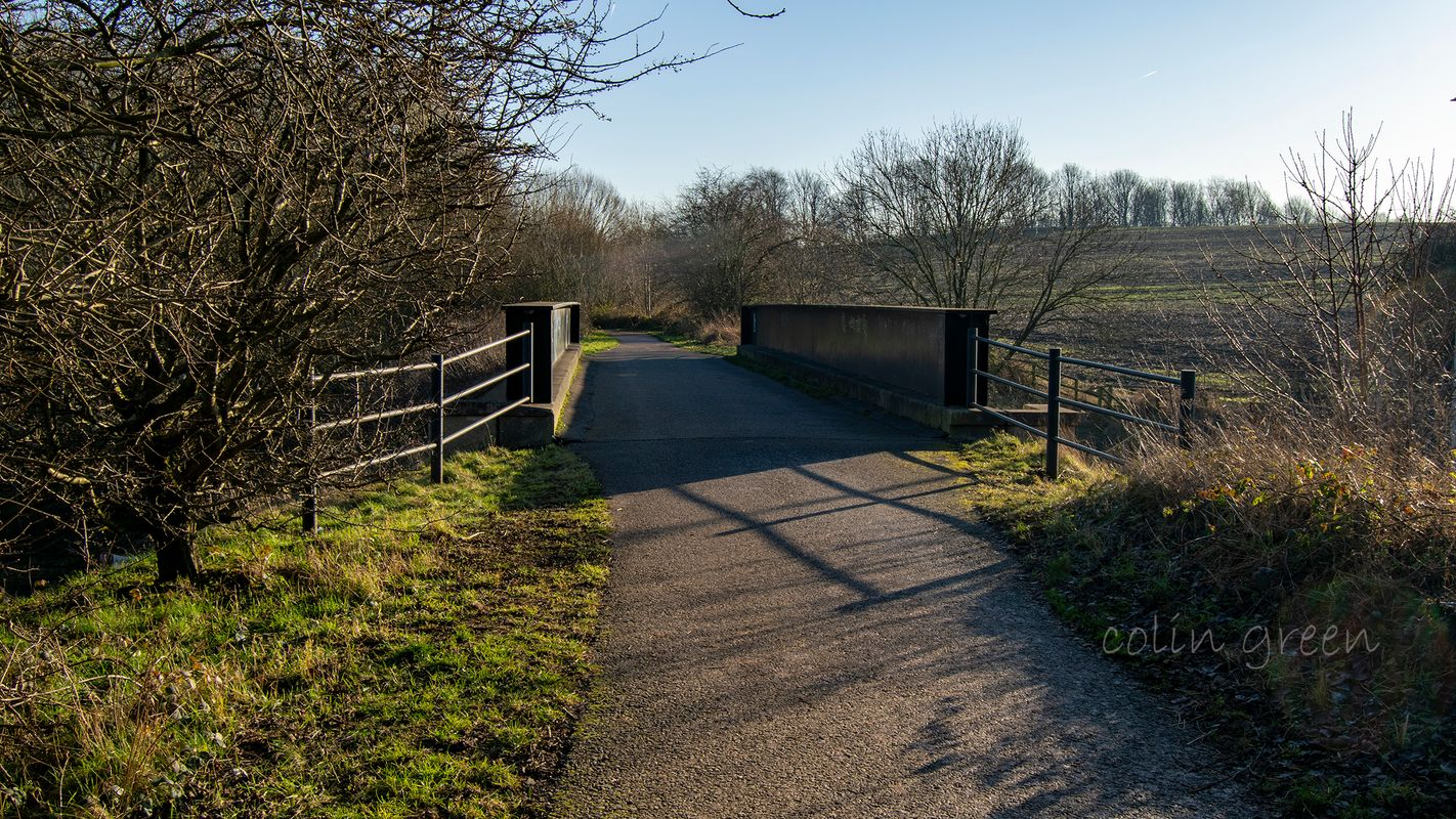 Whitehall Road A58 Bridge on the Spen Valley Greenway