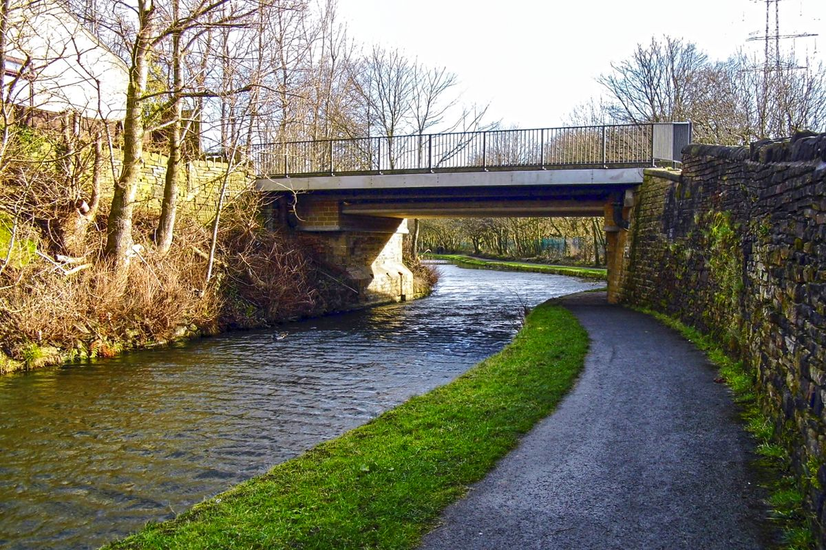 Copley Lane Bridge.