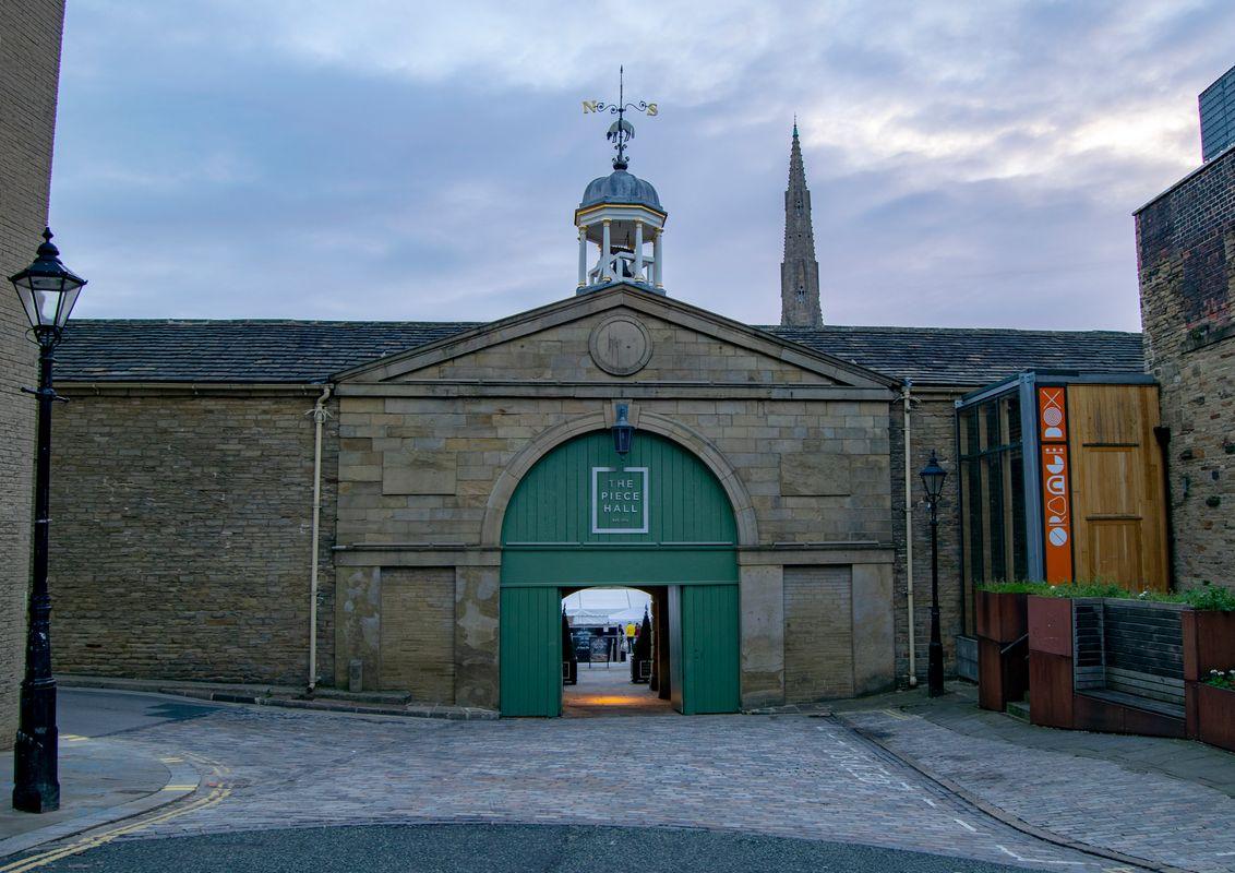 The West Gate, Piece Hall, Halifax.