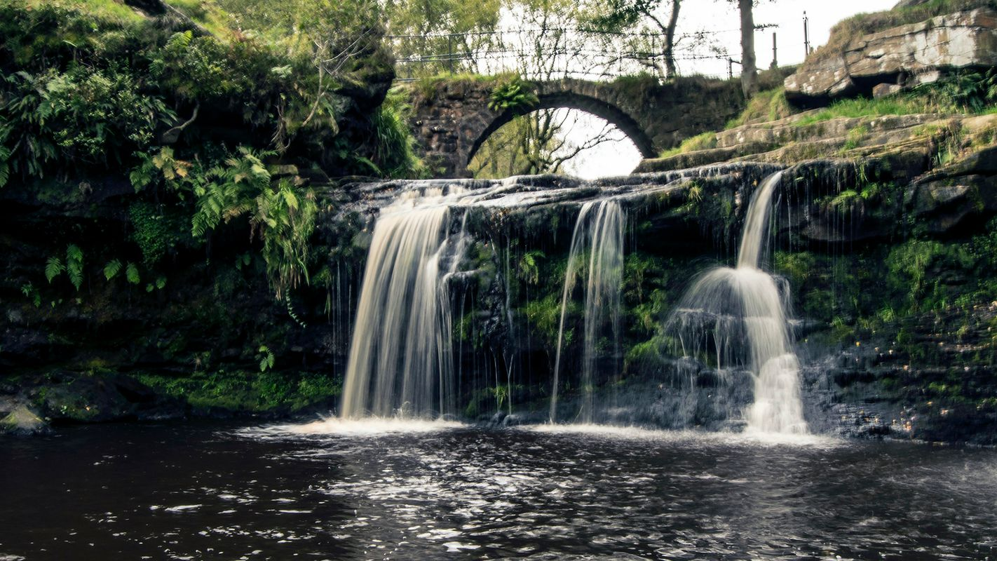 Lumb Falls, Crimsworth Dean, Hebden Bridge