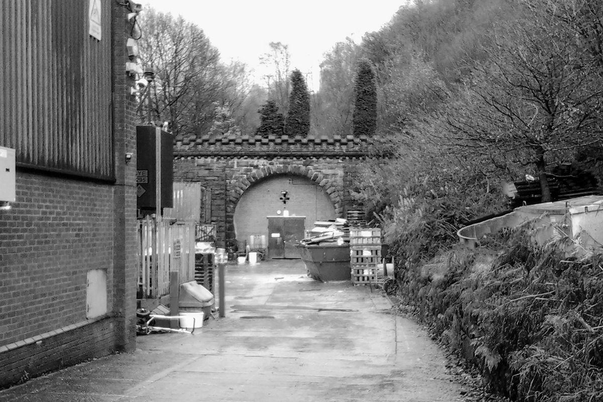 Scar Head Tunnel Portal, Sowerby Bridge.