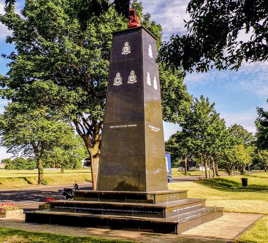 Battle of Britian Memorial, Croydon.