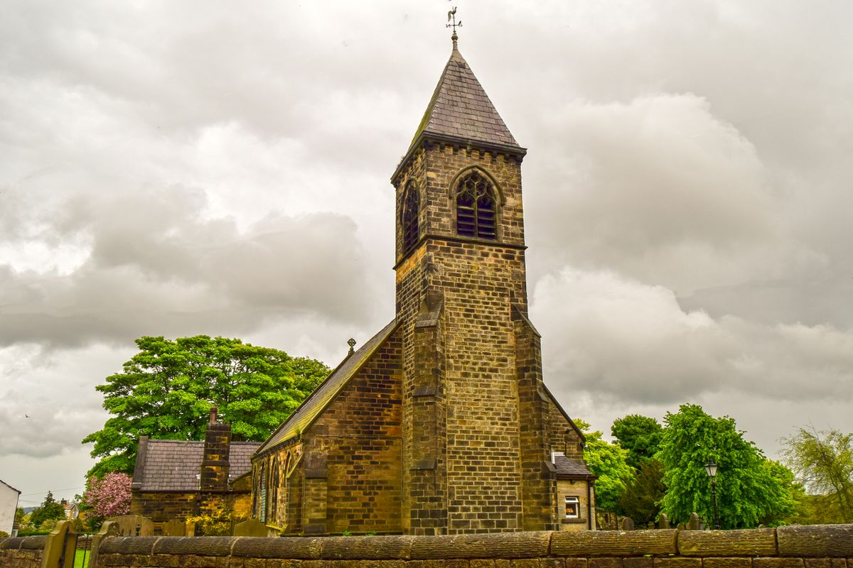 The Tower. St Nicholas Church, Upper Cumberworth.