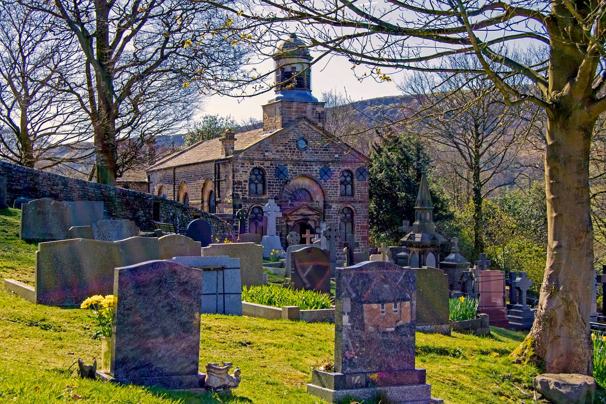 The Parish Church of St John the Devine, Cliviger.