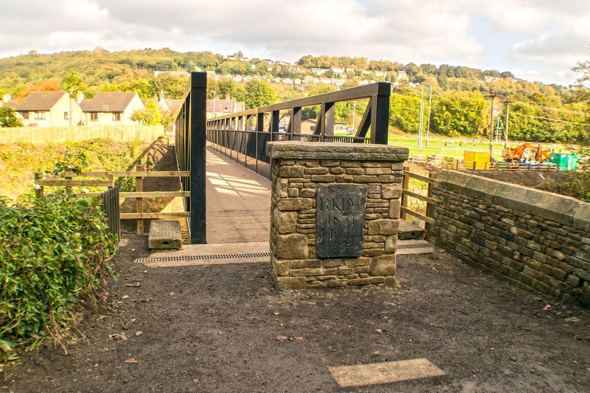 Across Wilson Bridge, Copley.