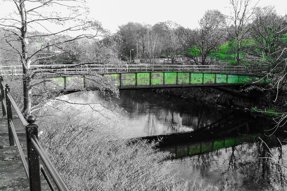 Gas Works Bridge, Sowerby Bridge