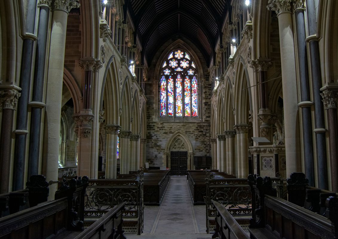 Inside All Souls Church, Halifax