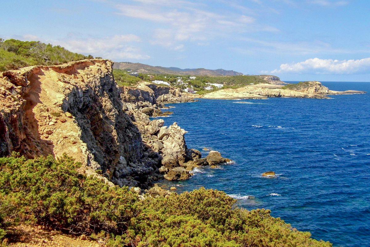 Far del Moscarter Coast, Ibiza.