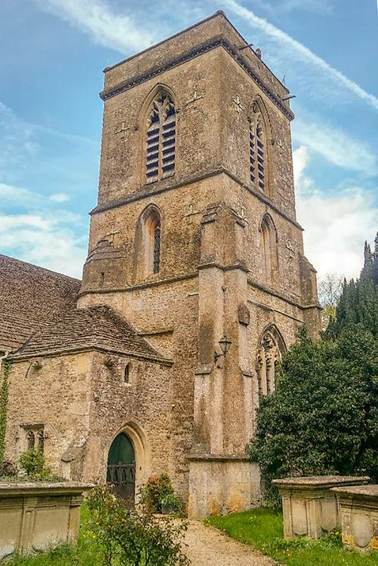 St Peters Church Tower, Langley Burrell.