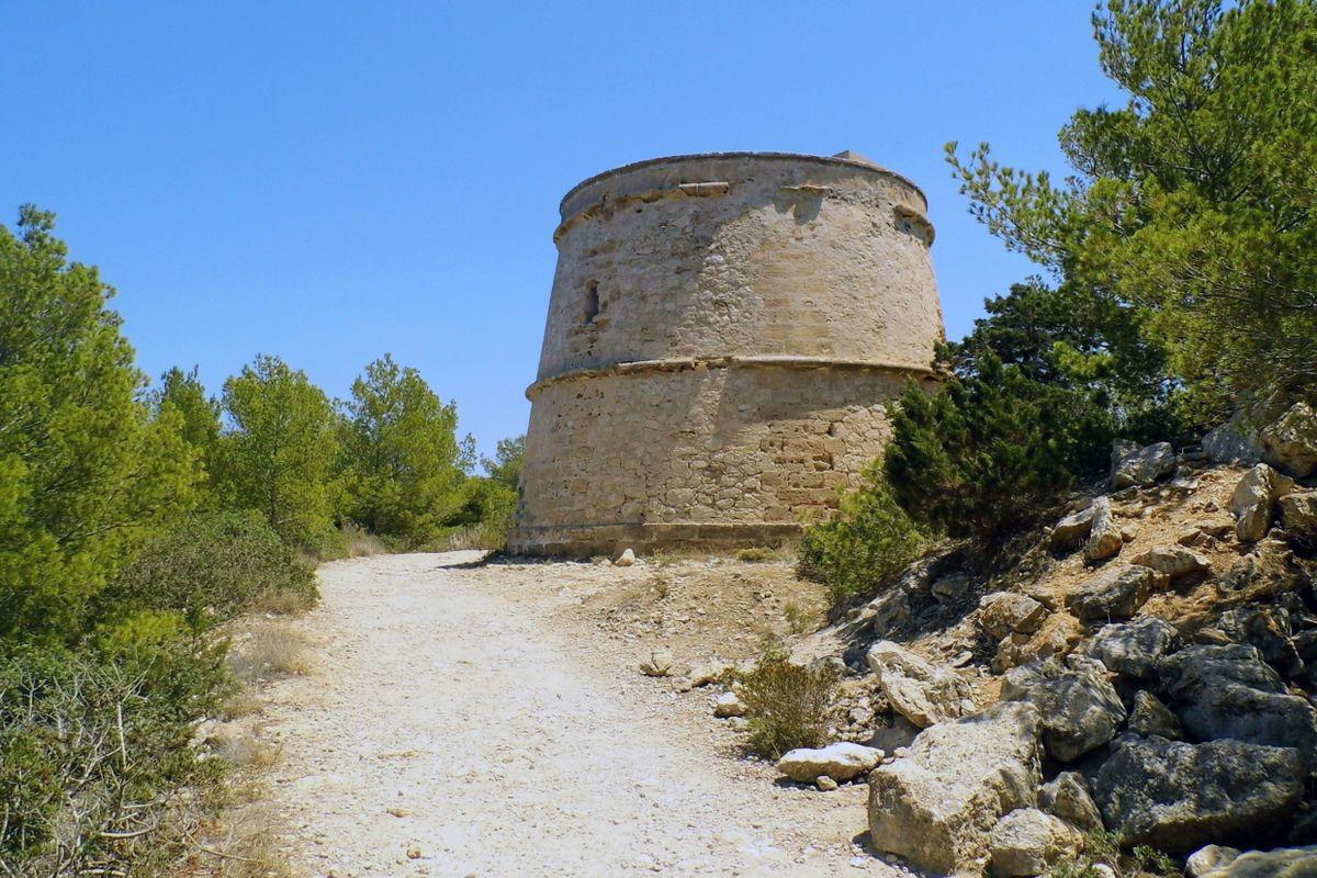 Portinatx Pirate Tower.