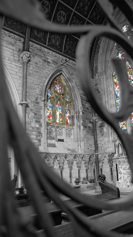 Stained Glass Window at All Souls, Halifax