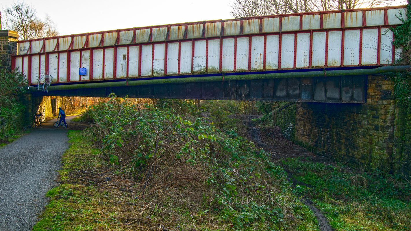 Whitcliffe Road Bridge on the Spen Valley Greenway