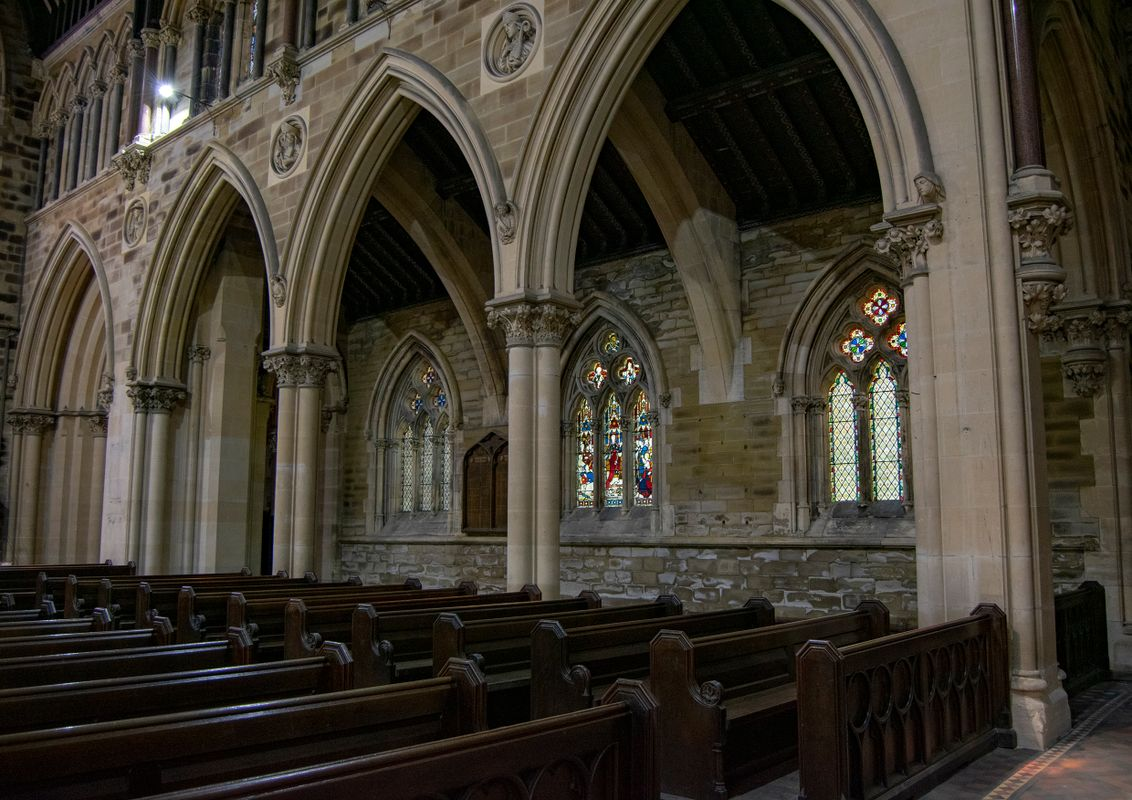 Seating at All Souls Church, Halifax